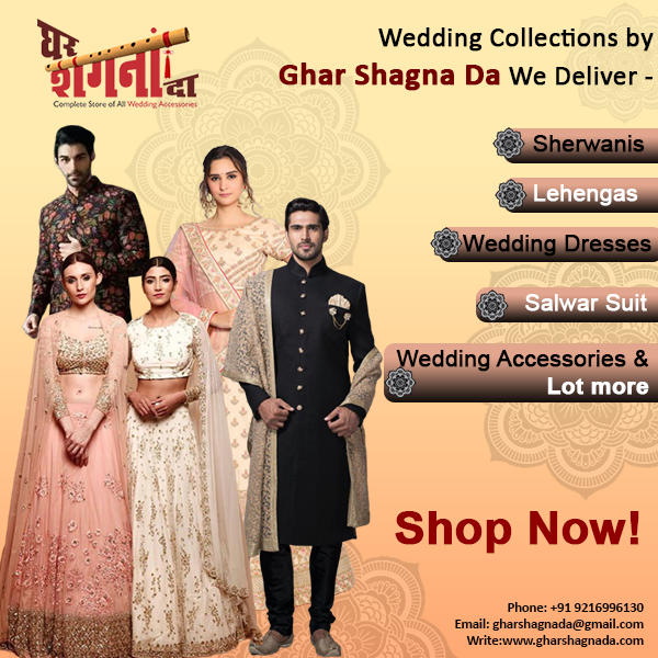 Best Store For Wedding Accessories on Rent in Punjab