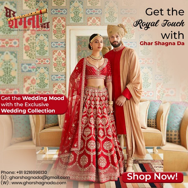 Best Shop For Rental Wedding Dresses in Dera Bassi